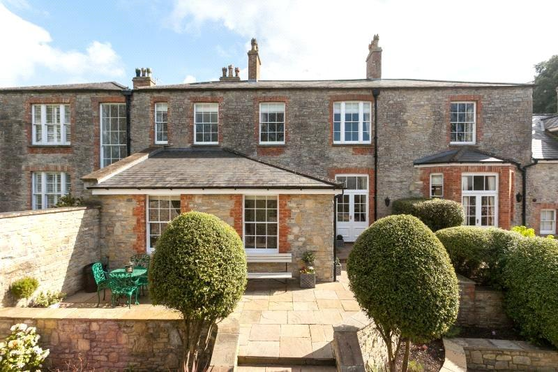2 Bedrooms Terraced House for sale in Badgworth Court, Badgworth, Axbridge, Somerset, BS26