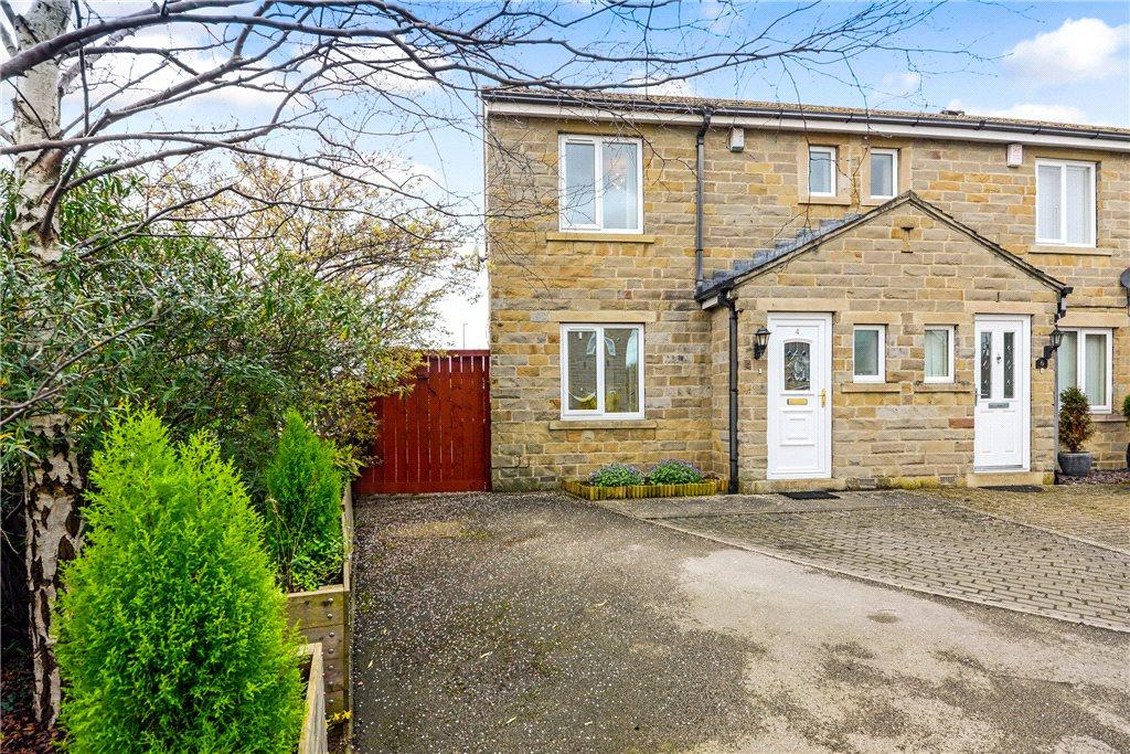 2 Bedrooms End Of Terrace House for sale in James Court, Collingham, Wetherby, West Yorkshire