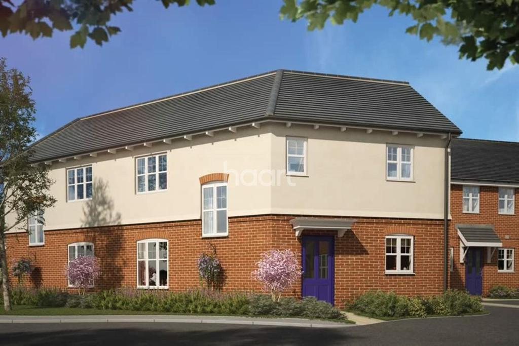 3 Bedrooms Semi Detached House for sale in The Bullington, Crispin Gardens