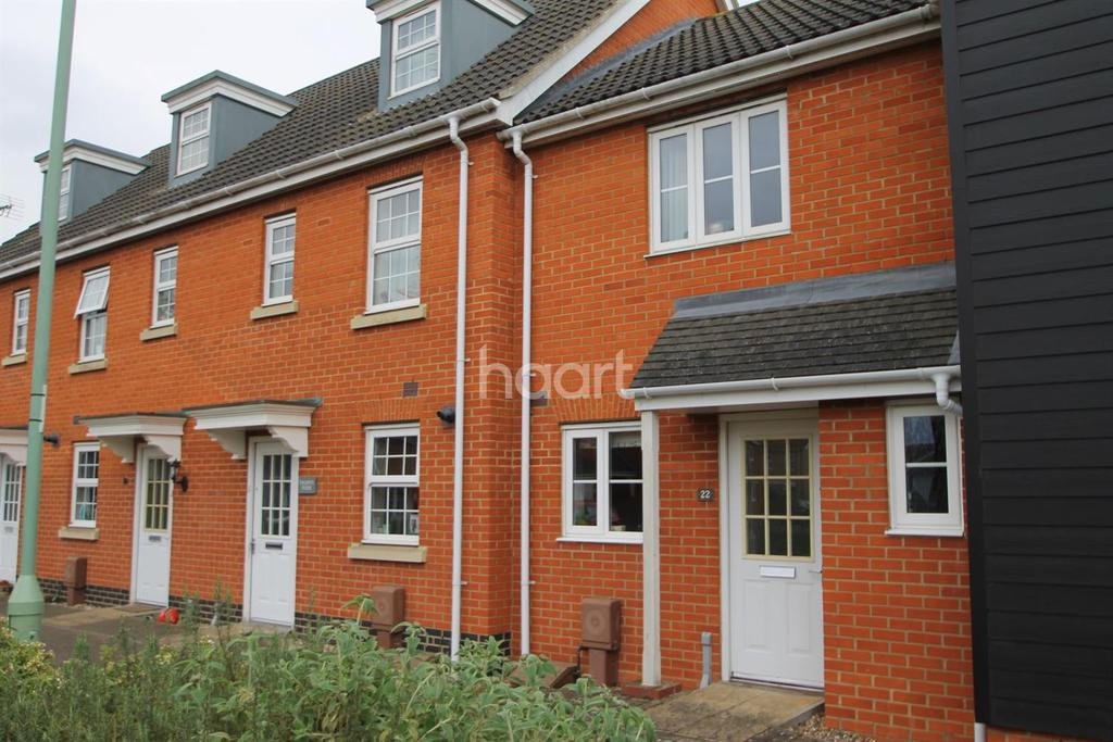 2 Bedrooms Terraced House for sale in Selway Drive, Bury St Edmunds