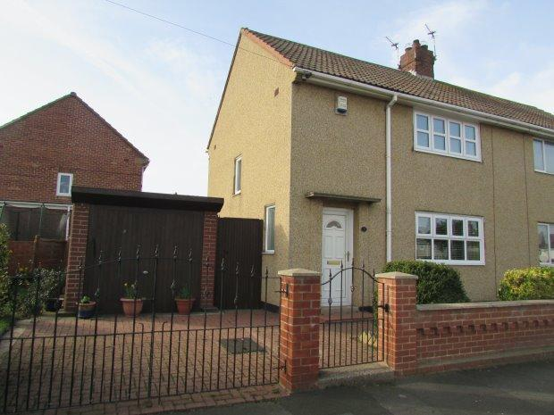 2 Bedrooms Semi Detached House for sale in GOLDSMITH AVENUE, KING OSWY, HARTLEPOOL