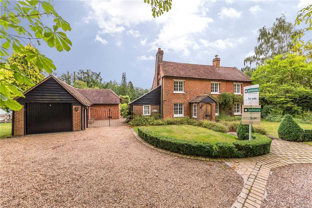 3 Bedrooms Detached House for sale in Ayot Green, Ayot St. Peter, Welwyn, Hertfordshire