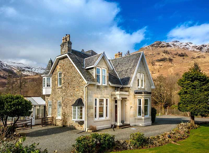 6 Bedrooms Detached House for sale in Carrick Castle, Lochgoilhead, Cairndow, PA24
