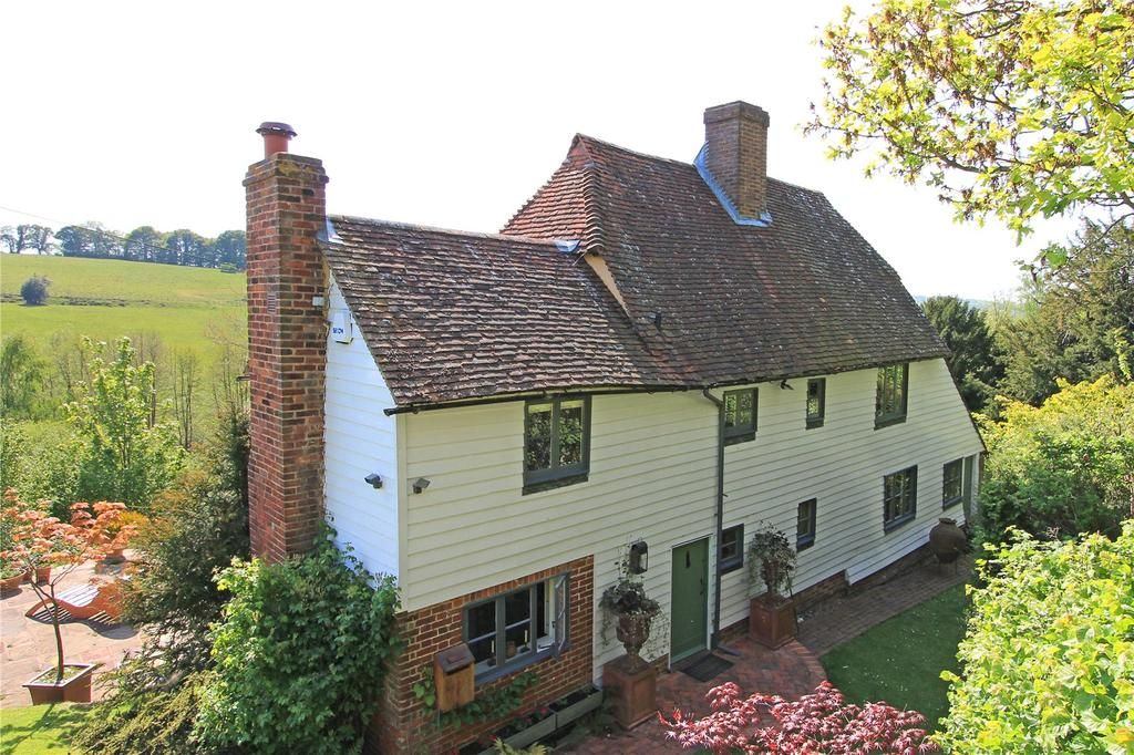 4 Bedrooms Detached House for sale in Poundsbridge, Penshurst, Tonbridge, Kent, TN11