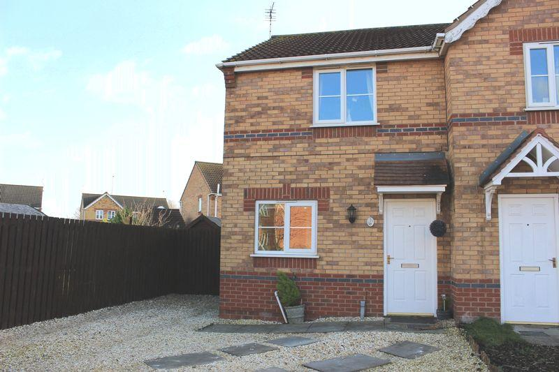 2 Bedrooms House for sale in An ideal First Time Buy, this modern semi detached property is located on this popular centrally located estate.