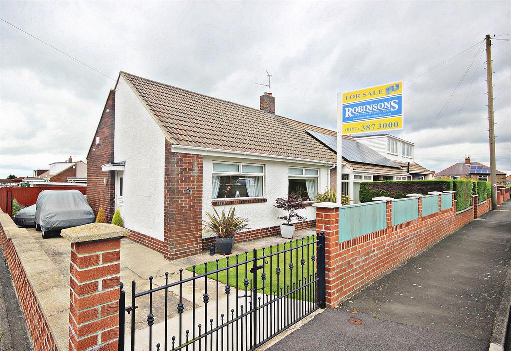 2 Bedrooms Semi Detached Bungalow for sale in Plunkett Road, Dipton, Stanley
