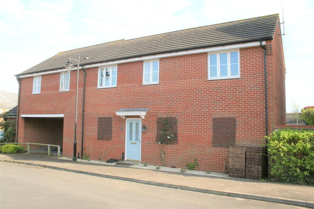 2 Bedrooms Semi Detached House for sale in Periwinkle Way, Elsea Park, PE10