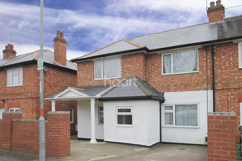 4 Bedrooms End Of Terrace House for sale in Dallington Road, Northampton