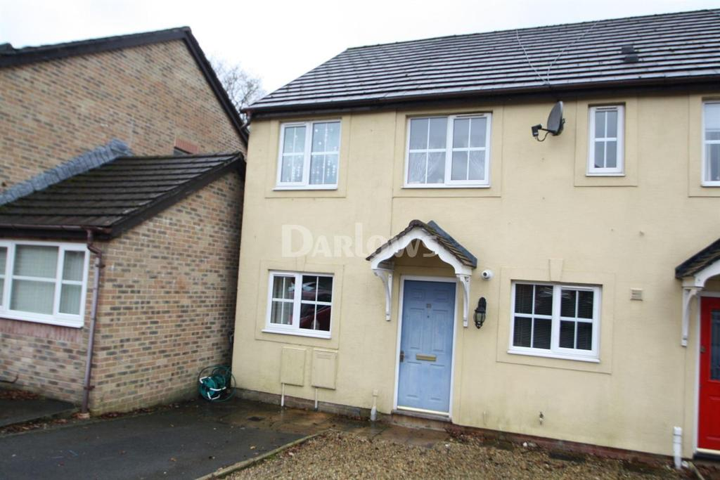 4 Bedrooms End Of Terrace House for sale in Downey Grove, Penpedairheol, Hengoed