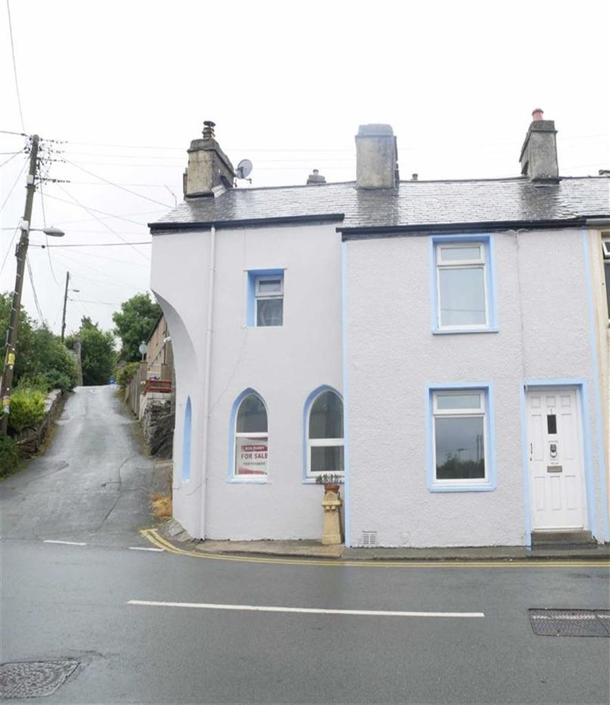 2 Bedrooms End Of Terrace House for sale in High Street, Talsarnau, Gwynedd
