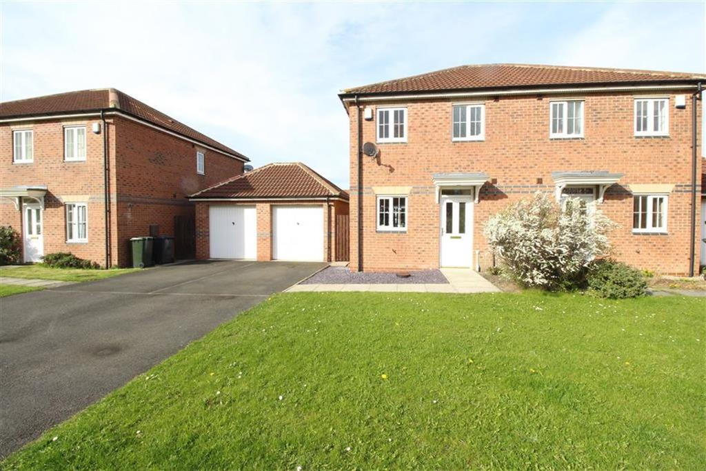 2 Bedrooms Semi Detached House for sale in Maybury Villas, Newcastle Upon Tyne