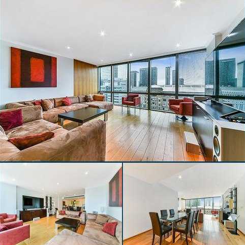 2 bedroom flat to rent - No. West India Quay, Hertsmere Road, Nr Canary Wharf, London, E14