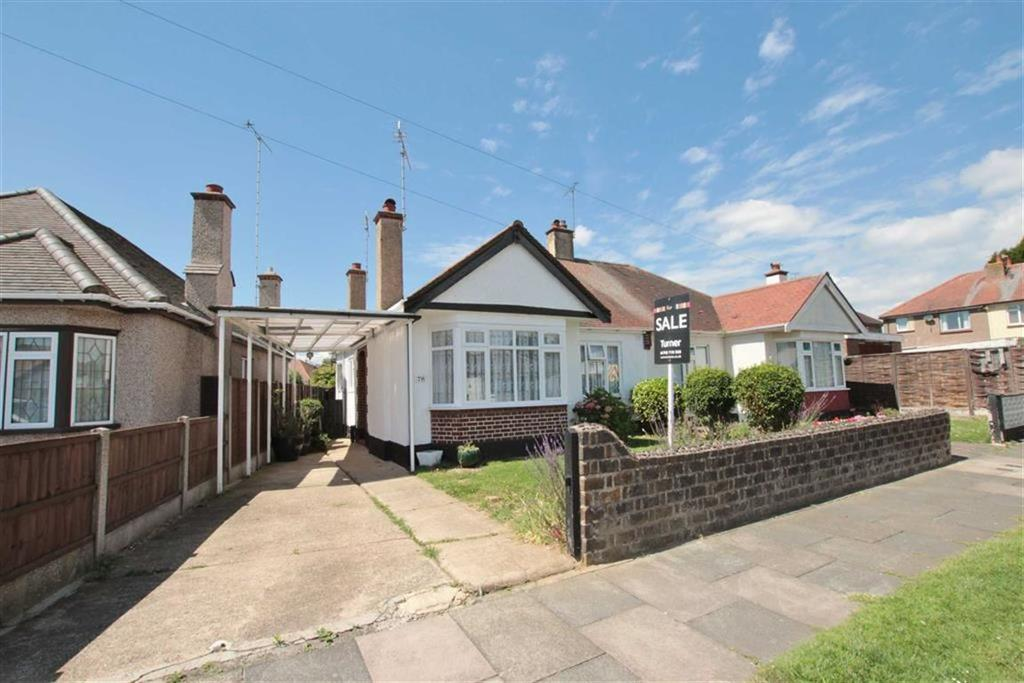 2 Bedrooms Semi Detached Bungalow for sale in Walsingham Road, Southend-On-Sea, Essex