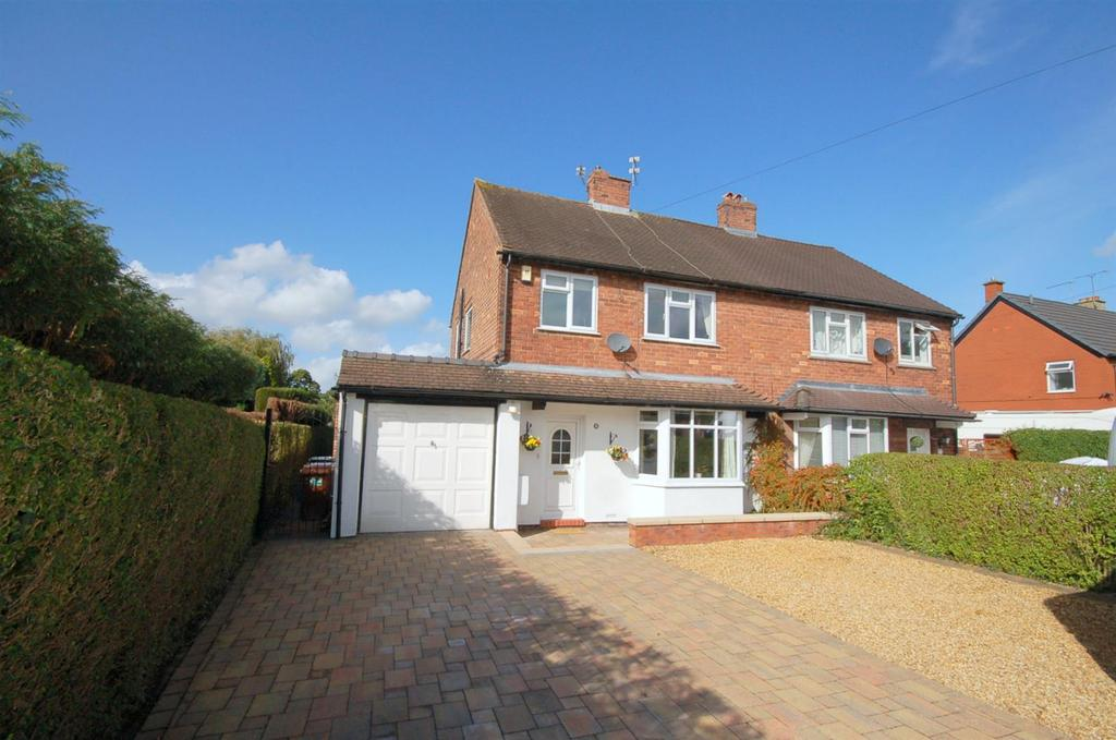 3 Bedrooms Semi Detached House for sale in Station Road, Scholar Green