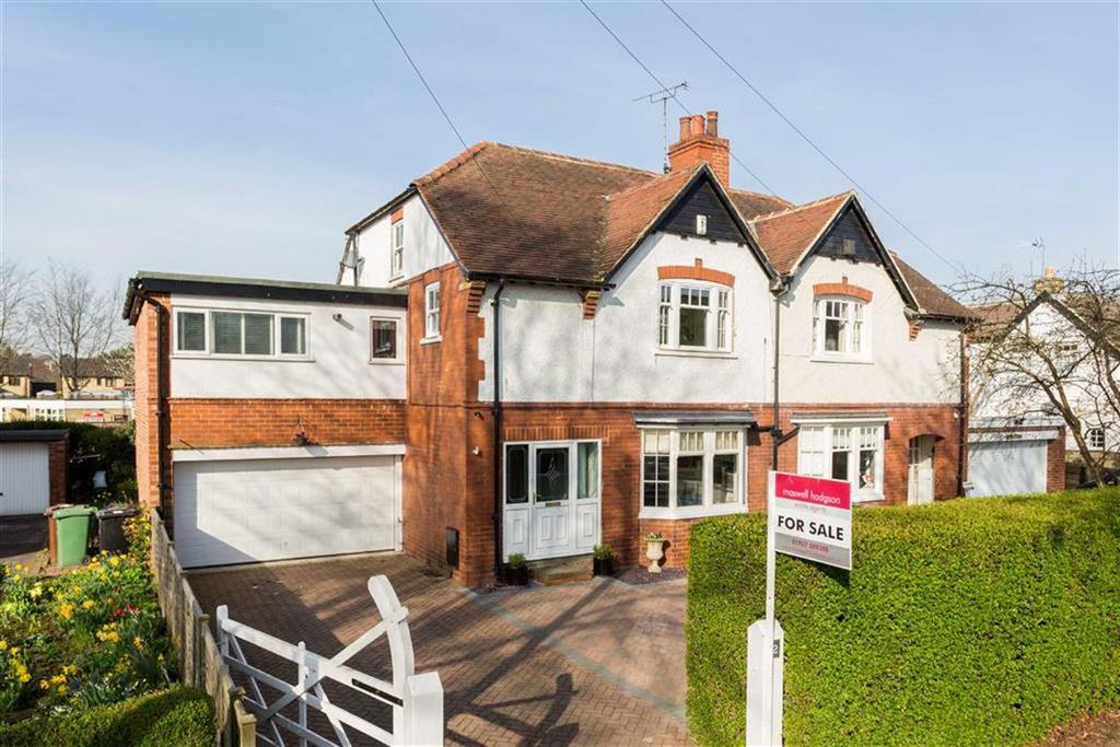 4 Bedrooms Semi Detached House for sale in The Avenue, Collingham, LS22