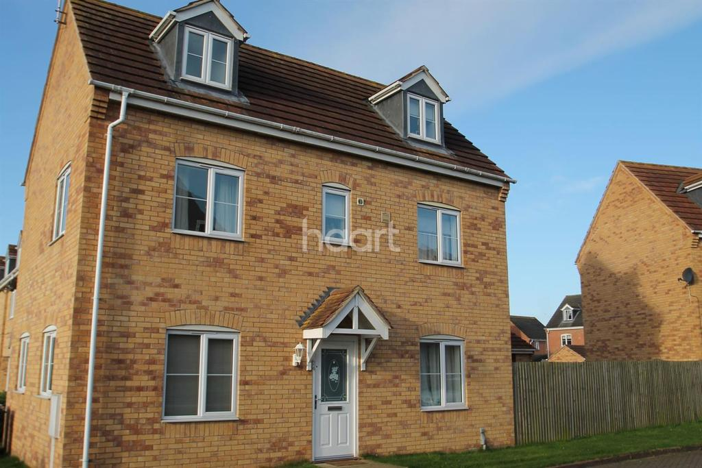 4 Bedrooms Detached House for sale in Minerva Close, Ancaster, NG32 3LJ