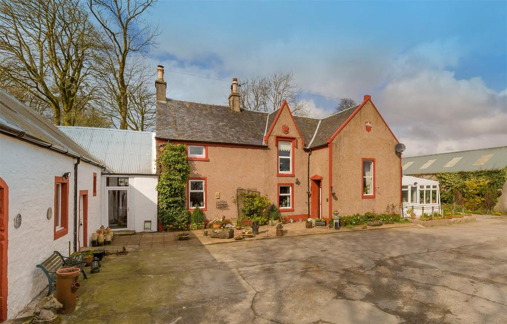 4 Bedrooms Equestrian Facility Character Property for sale in West Bankside Farm, Geirston Road, Kilbirnie, Ayrshire