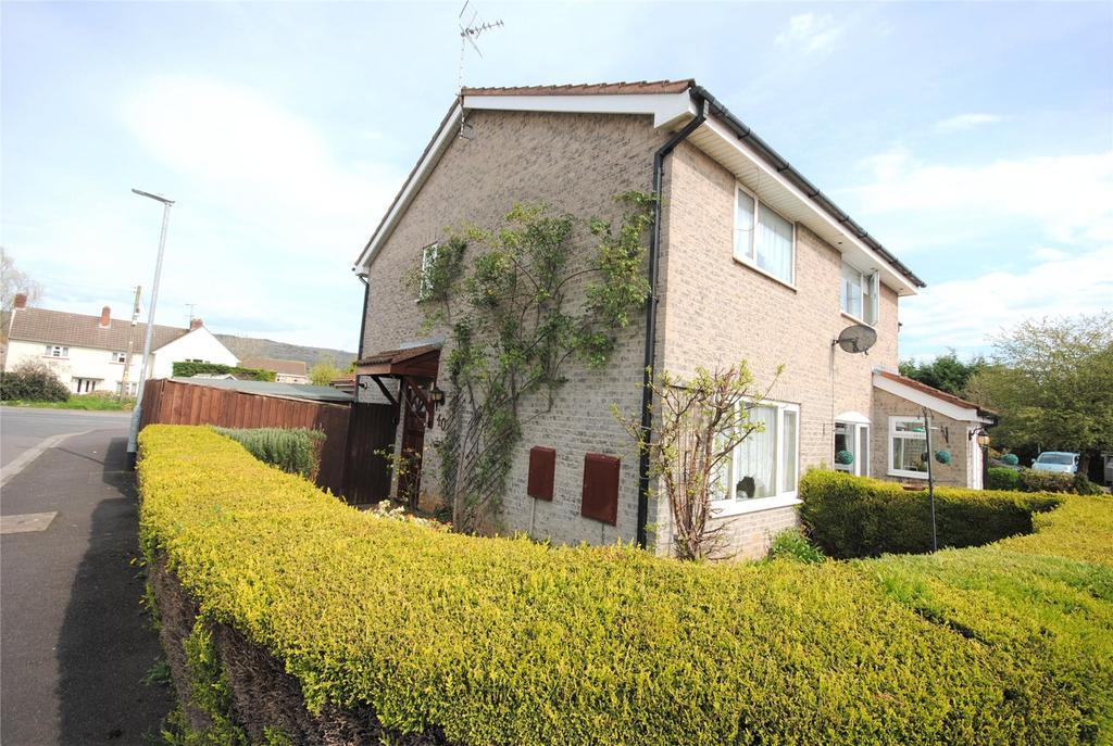 2 Bedrooms End Of Terrace House for sale in Fiveways Close, CHEDDAR, BS27