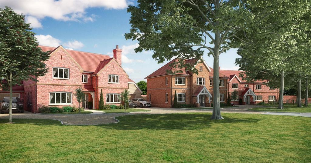 4 Bedrooms Detached House for sale in Newbury Road, Hermitage, Thatcham, Berkshire, RG18