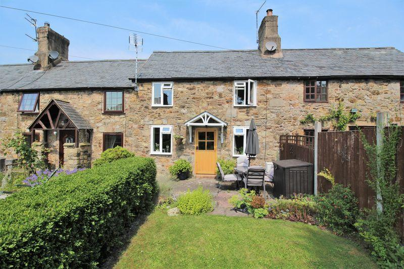 2 Bedrooms Terraced House for sale in Stone Cottages, Chirk