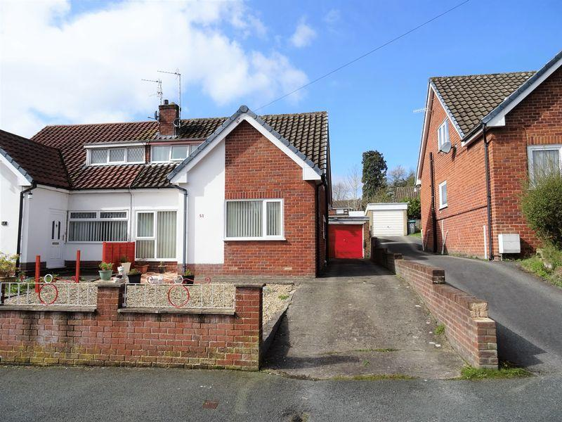 3 Bedrooms Semi Detached Bungalow for sale in Trefynant Park, Wrexham