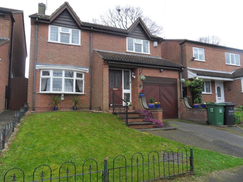 4 Bedrooms Detached House for sale in Coombe Close, Shepshed