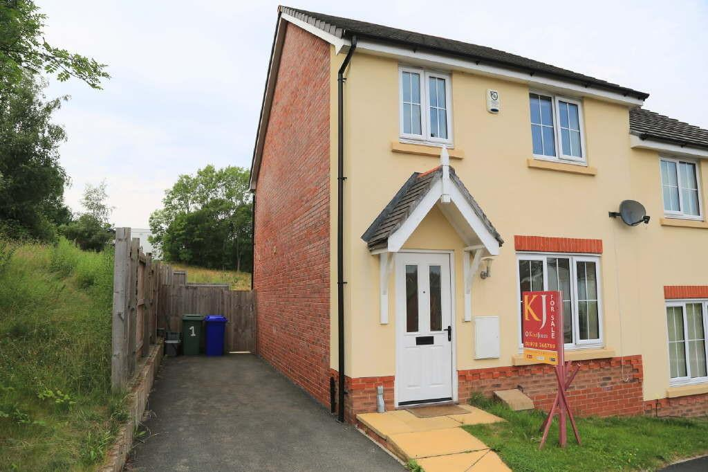 3 Bedrooms Semi Detached House for sale in Walkham Court, Gwersyllt