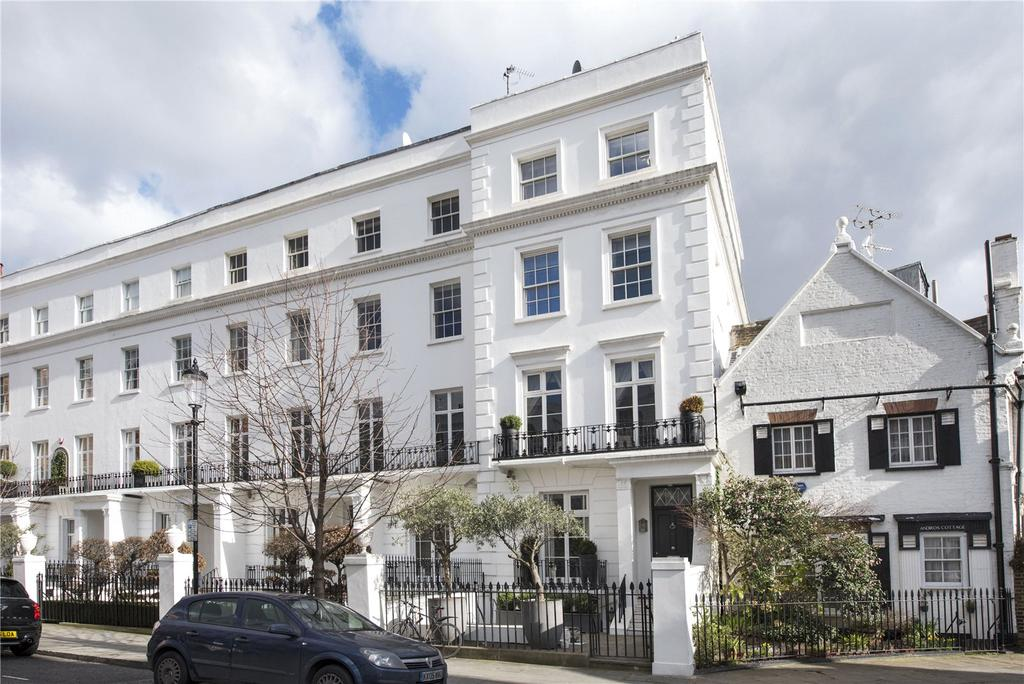 5 Bedrooms End Of Terrace House for sale in Walton Place, London, SW3