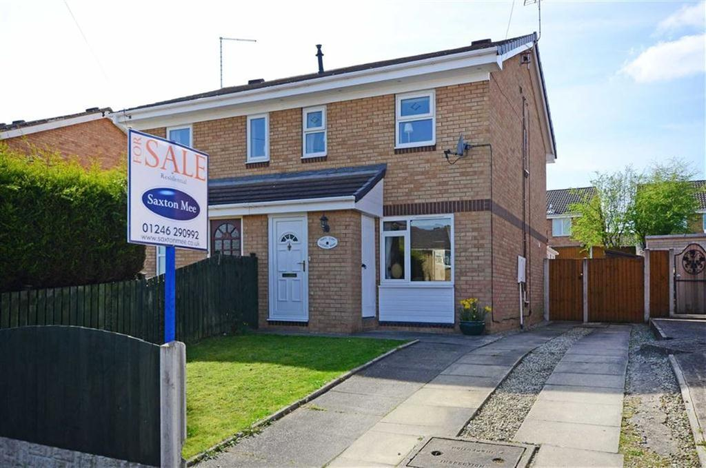 2 Bedrooms Semi Detached House for sale in 48, Kestrel Drive, Eckington, Sheffield, S21