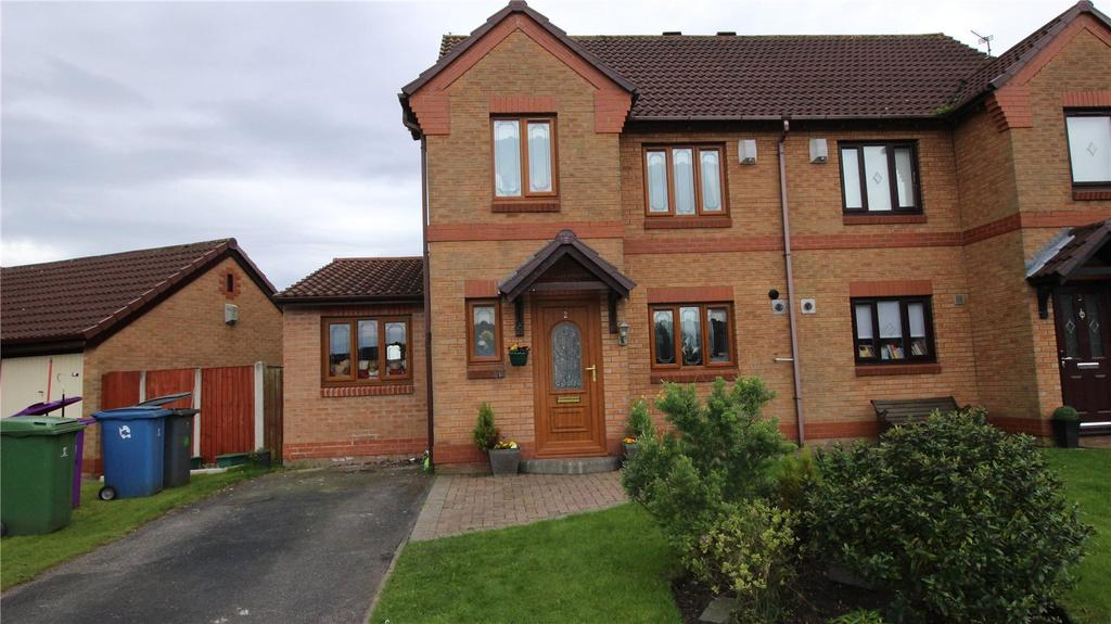 3 Bedrooms Semi Detached House for sale in Watton Close, Liverpool, Merseyside, L12