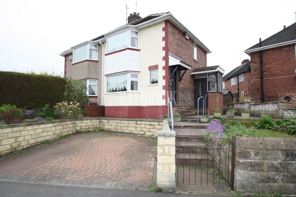 2 Bedrooms Semi Detached House for sale in Peakdale Crescent, Frecheville, S12