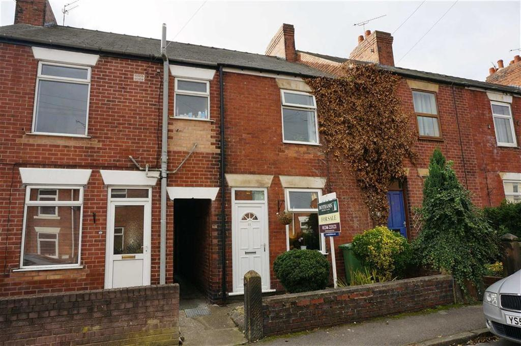 3 Bedrooms Terraced House for sale in Ashfield Road, Hasland, Chesterfield, Derbyshire, S41