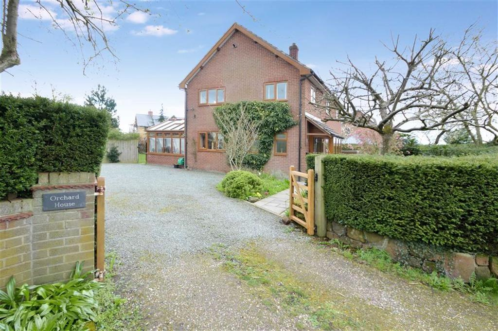 4 Bedrooms Detached House for sale in Orchard House, Wem Road, Harmer Hill, SY4