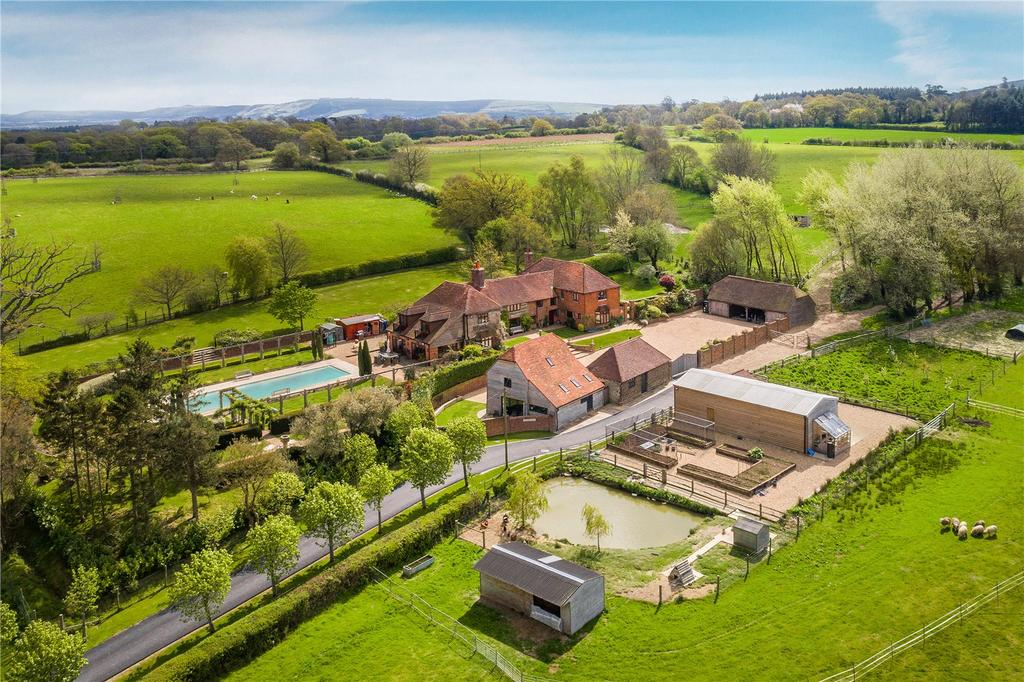 7 Bedrooms Detached House for sale in Spithandle Lane, Wiston, Steyning, West Sussex