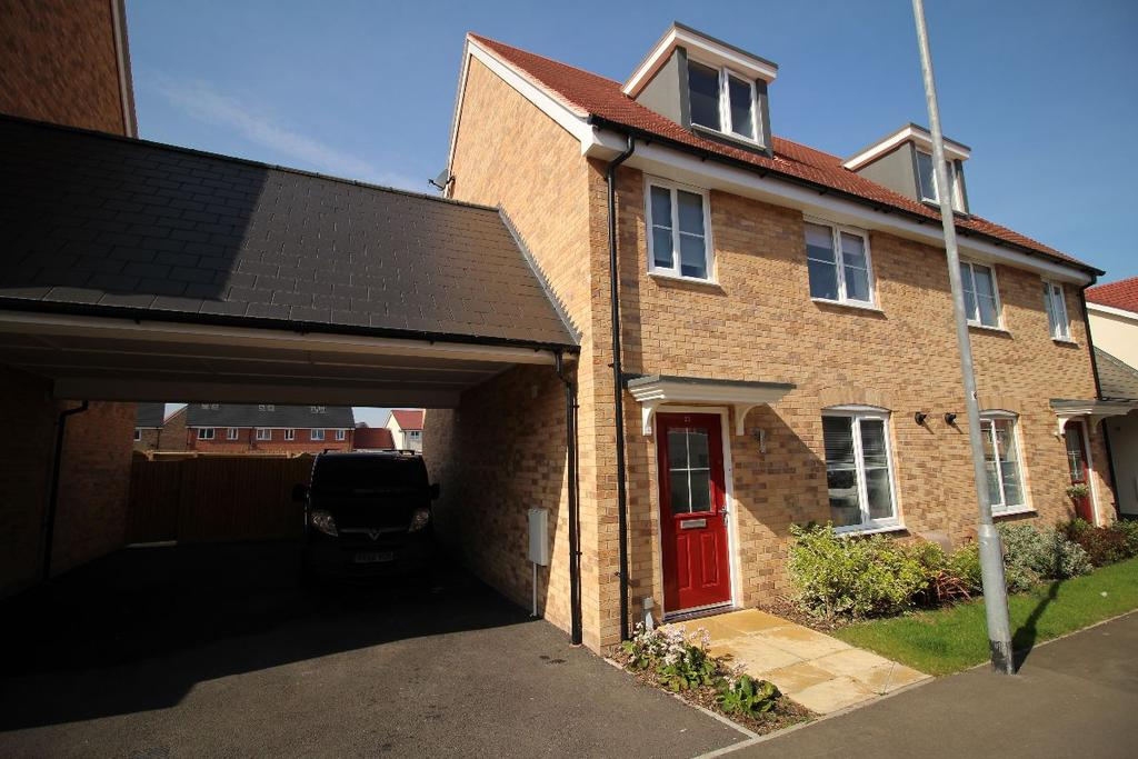 4 Bedrooms Semi Detached House for sale in Haygreen Road, Witham, Essex CM8 1GT