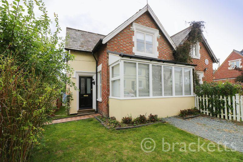 2 Bedrooms Semi Detached House for sale in Newcomen Road, Tunbridge Wells