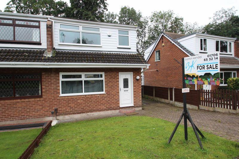 3 Bedrooms Semi Detached House for sale in Bench Carr, Rochdale OL12 0QU