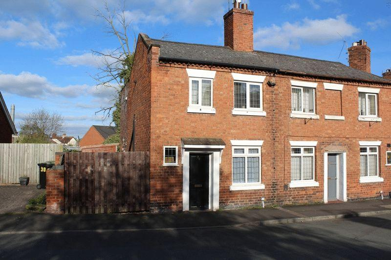 2 Bedrooms Terraced House for sale in Long Row, Ditherington, Shrewsbury, SY1 4DF