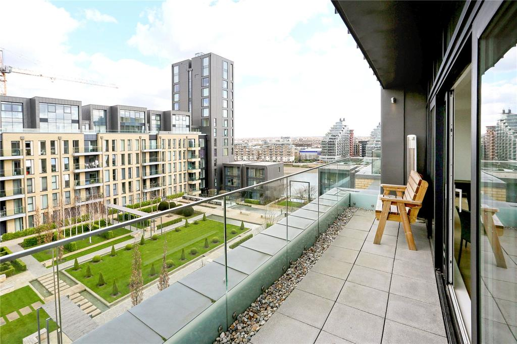 3 Bedrooms Flat for sale in Ravensbourne Apartments, Fulham Riverside, Fulham, London, SW6