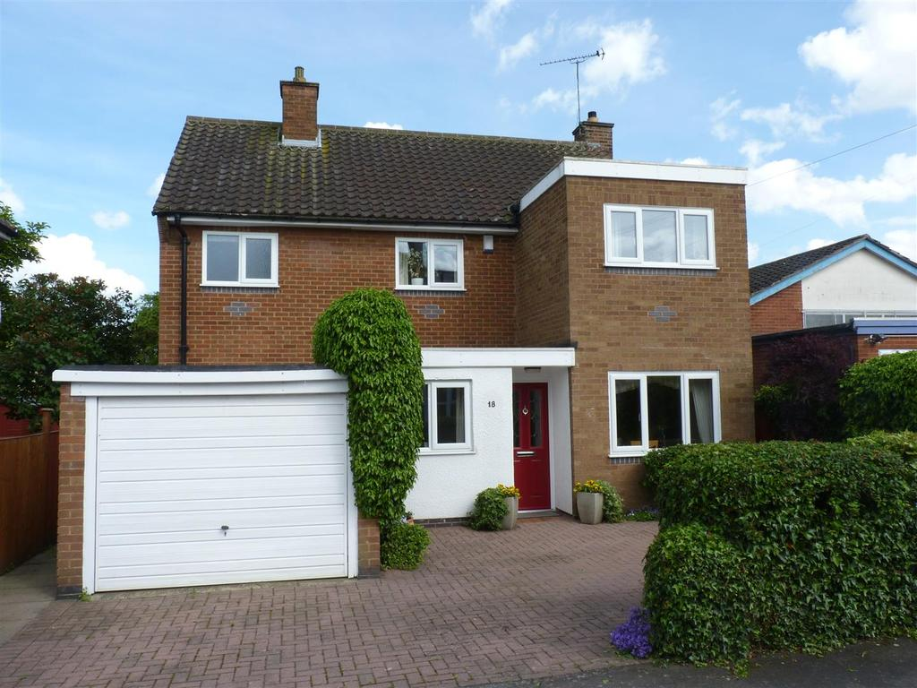 4 Bedrooms Detached House for sale in Halford Road, Kibworth, Leicester