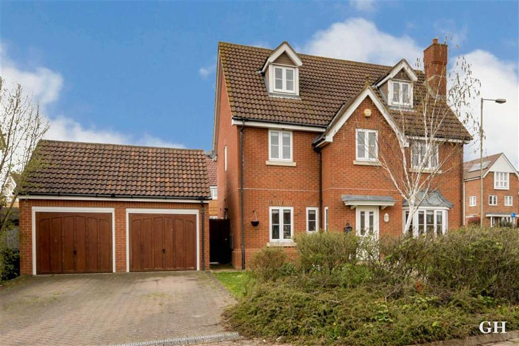 6 Bedrooms Detached House for sale in Ploughmans Way, Chartfields, Ashford