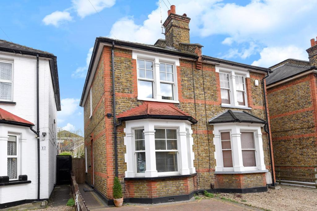 2 Bedrooms Semi Detached House for sale in South Lane, Kingston upon Thames, KT1