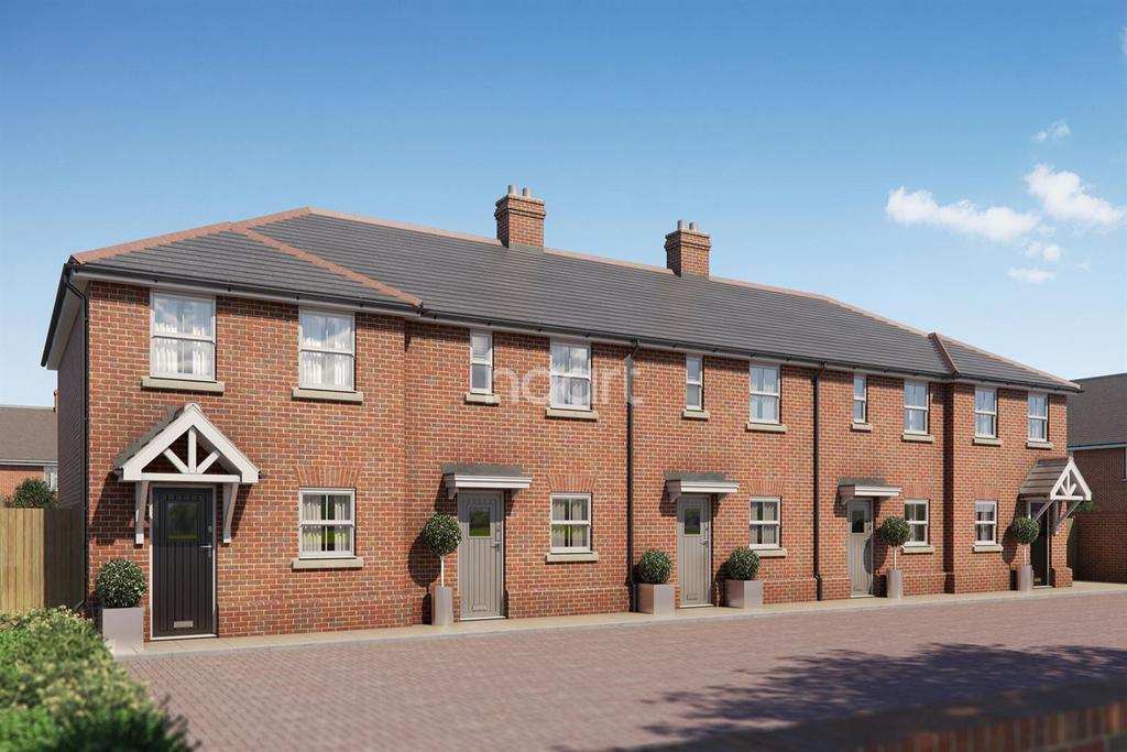 2 Bedrooms End Of Terrace House for sale in Coalville Mews, Colchester