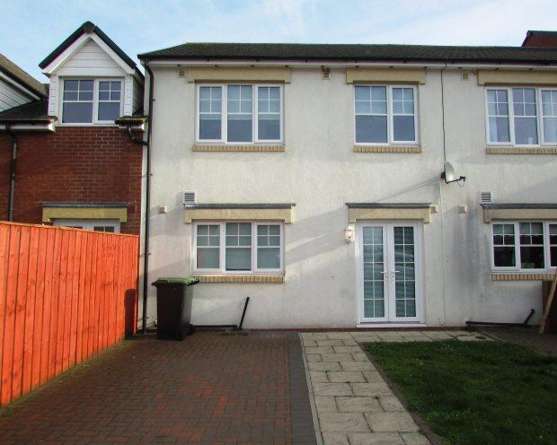 3 Bedrooms Town House for sale in MURTON MEWS, MURTON, SEAHAM DISTRICT