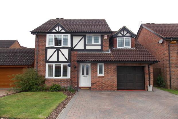 4 Bedrooms Detached House for sale in Brompton Way, West Bridgford, Nottingham, NG2