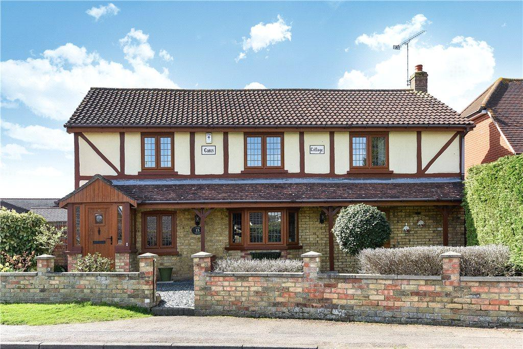 4 Bedrooms Detached House for sale in Church Road, Westoning, Bedford, Bedfordshire