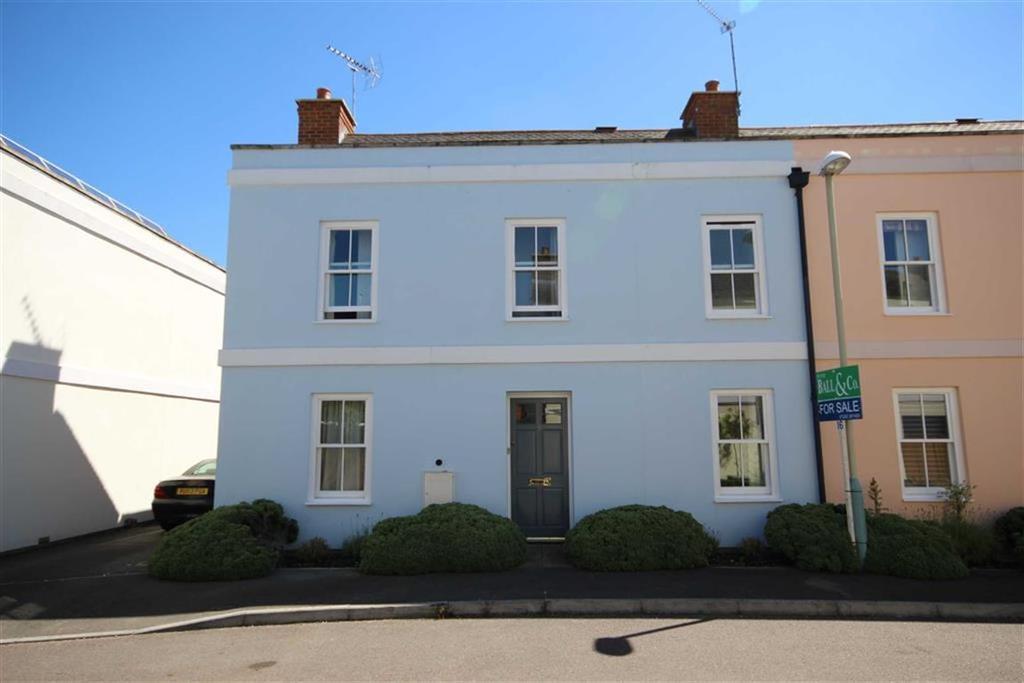 3 Bedrooms Semi Detached House for sale in Station Close, Leckhampton, Cheltenham, GL53