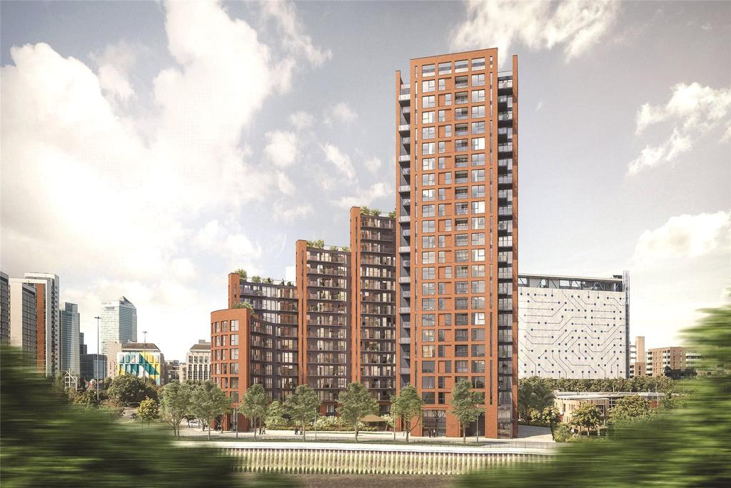 1 Bedroom Apartment Flat for sale in Orchard Wharf, E14