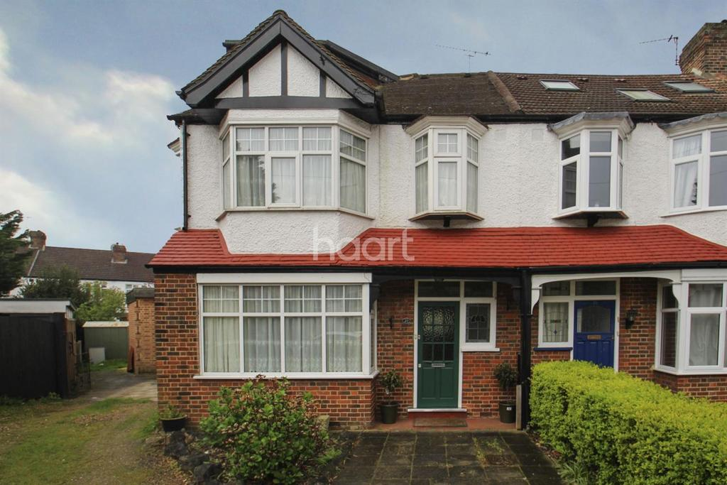 4 Bedrooms End Of Terrace House for sale in Meadway, SW20