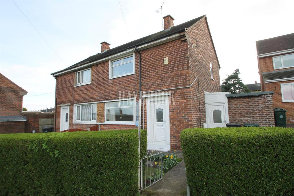 2 Bedrooms Semi Detached House for sale in Byrley Road, Kimberworth Park